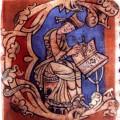 Lettrine du premier folio du manuscrit.